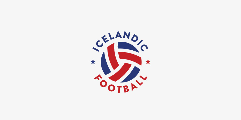 Icelandic Football Blog Logo, Matthew Wolff Design