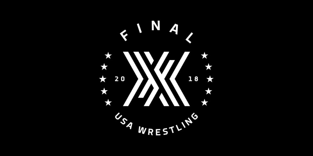 Final X Wrestling Logo Lane Porter Matthew Wolff