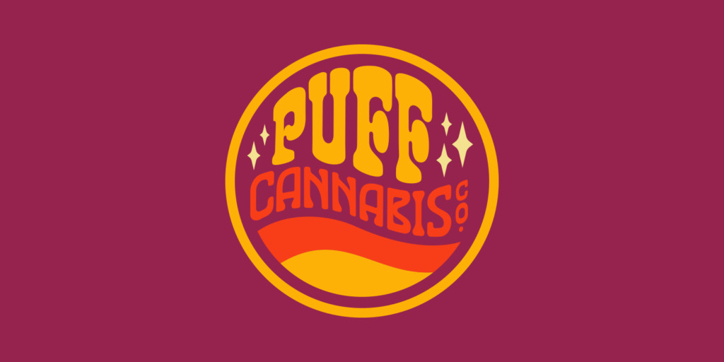 Puff Cannabis Co Logo by Matthew Wolff