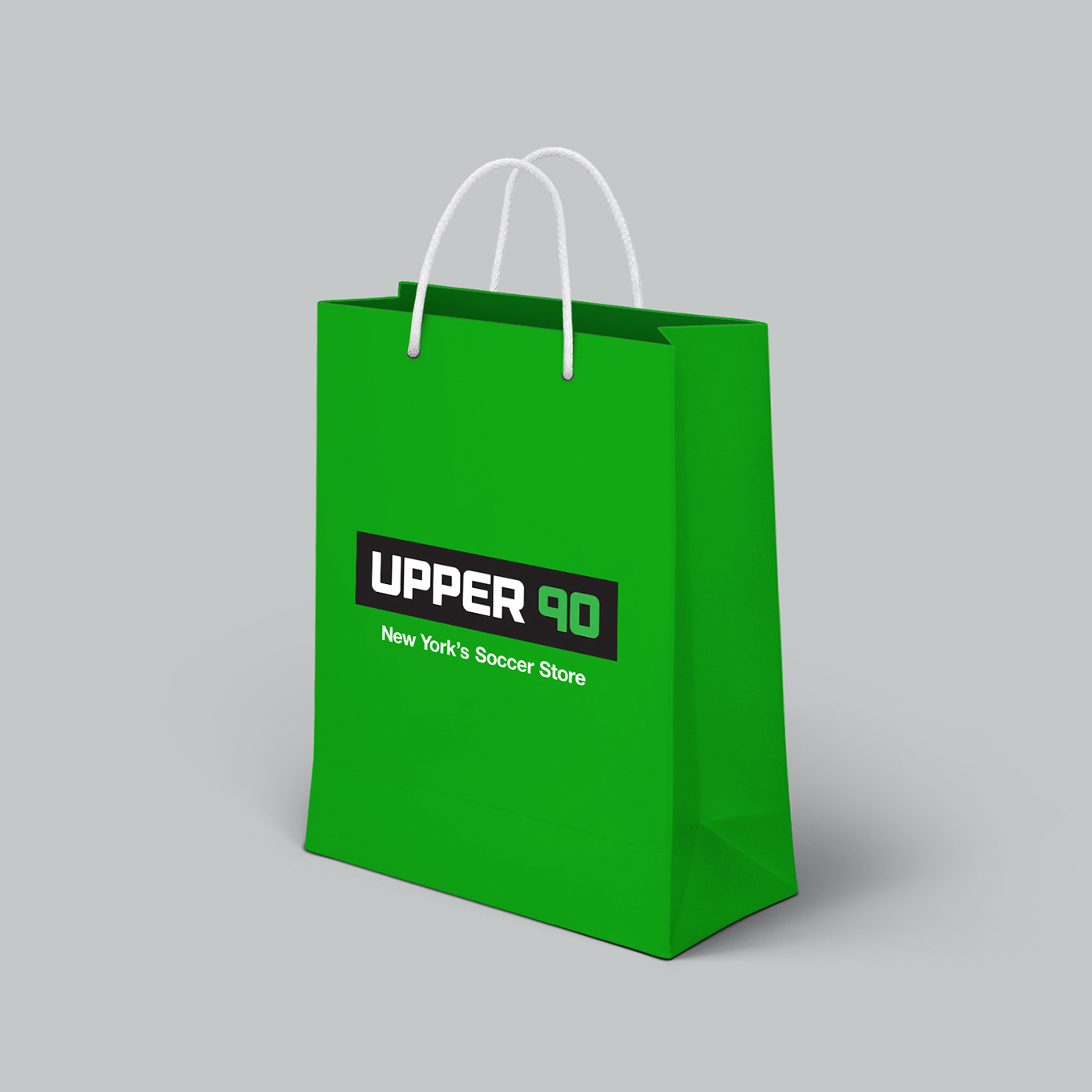 Upper 90 Soccer Shopping Bag