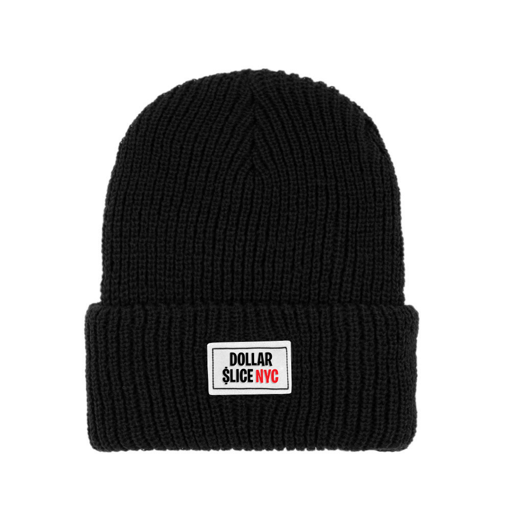 Dollar Slice NYC, beanie, Matthew Wolff Design