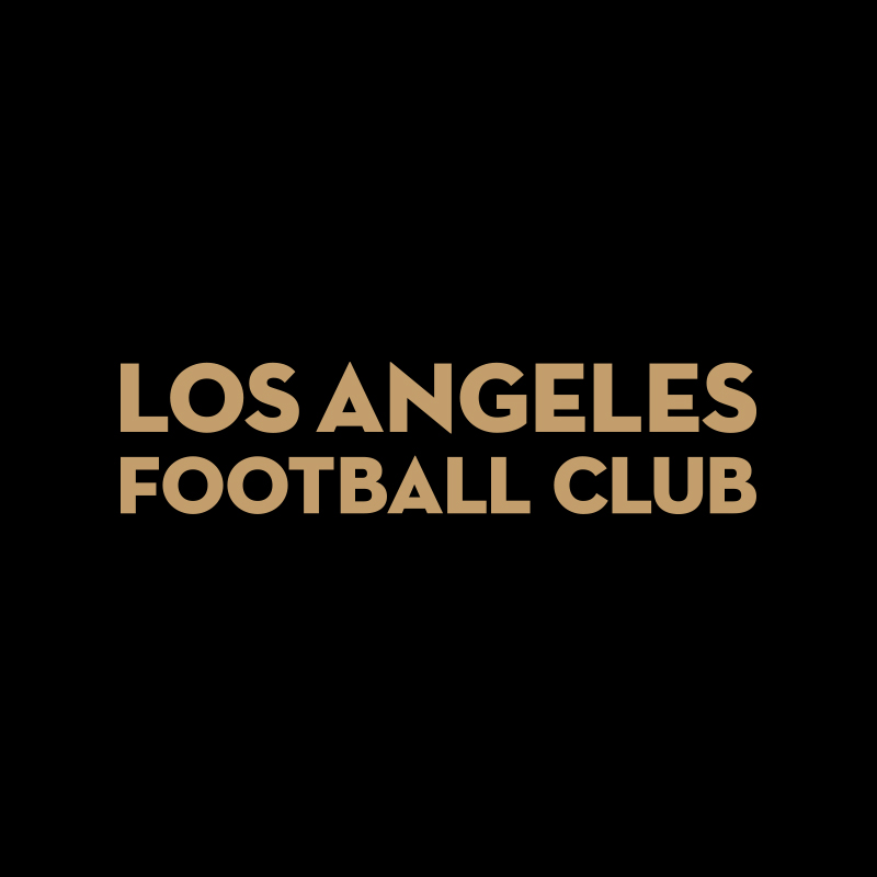 Los Angeles Football Club, Wordmark, LAFC Designer, LAFC Logo, Matthew Wolff Design, Soccer, Football, Crest, Badge, Logo, Los Angeles FC, Club, Los Angeles Football Club, MLS, Adidas, Artist, Graphic Designer, Branding