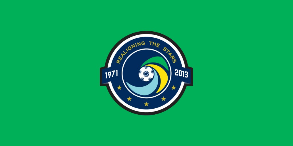 New York Cosmos, Inaugural Season, 2013, Logo, Soccer, Football