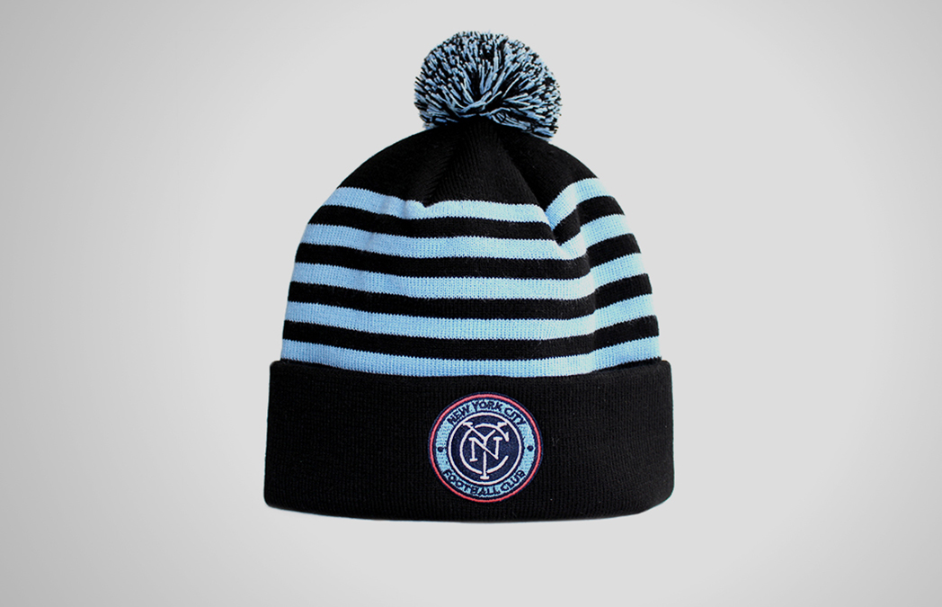 Hat, Soccer, Football, Design, Graphic Designer, Crest, Badge, Logo, Artist, Matthew Wolff Design, New York City FC, NYCFC, NYFC, NYC FC, David Villa, Frank Lampard, Andrea Pirlo, No Pirlo No Party, Yes Pirlo Yes Party, Poku, Yankee Stadium, Mix Diskerud, MLS, NY, Adidas, Third Rail, Streetwear, Apparel, Tshirt, Snapback, Hat, Cap, Branding, Kit, Identity, 2015, Inaugural Season Logo
