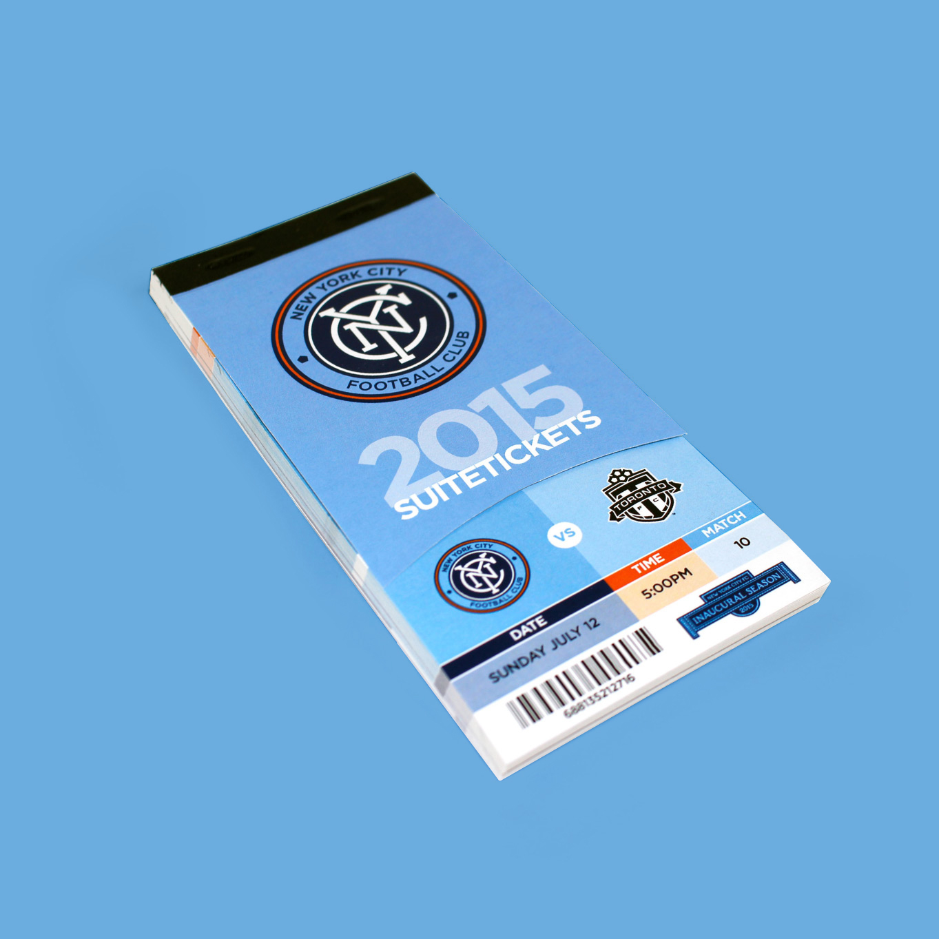 New York City FC Season Tickets 2015, NYCFC