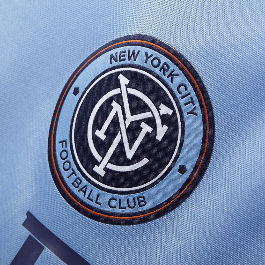 Soccer, Football, Design, Graphic Designer, Crest, Badge, Logo, Artist, Matthew Wolff Design, New York City FC, NYCFC, NYFC, NYC FC, David Villa, Frank Lampard, Andrea Pirlo, No Pirlo No Party, Yes Pirlo Yes Party, Poku, Yankee Stadium, Mix Diskerud, MLS, NY, Adidas, Third Rail, Streetwear, Apparel, Tshirt, Snapback, Hat, Cap, Branding, Kit, Identity, 2015, Inaugural Season Logo