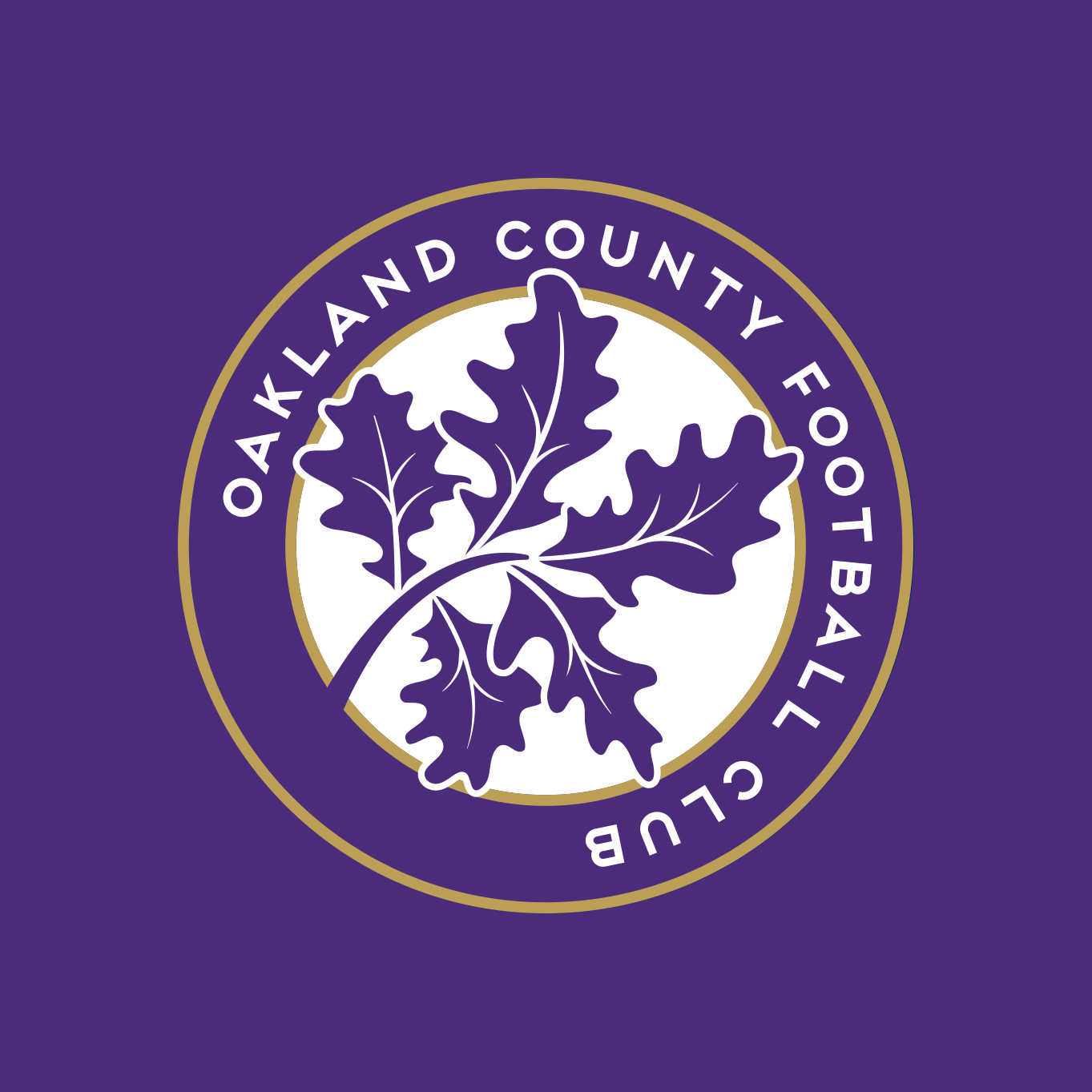 Oakland County Football Club Embroidered Crest