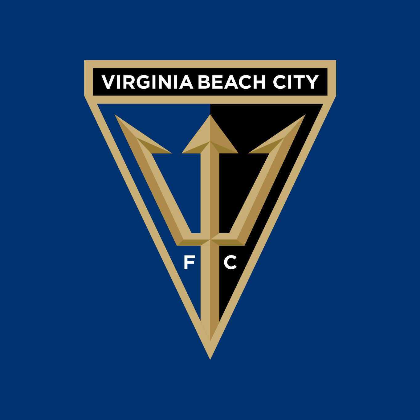 VB City FC, Virginia Beach City FC, Crest, Logo, Badge, NPSL, Matthew Wolff Design