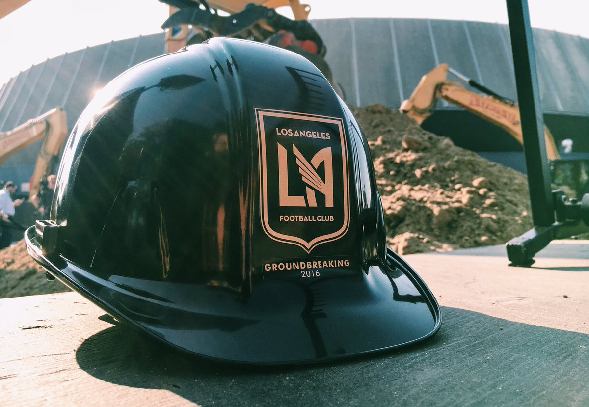LAFC Stadium, Banc of California Stadium, Groundbreaking, LA, Los Angeles, Football Club,