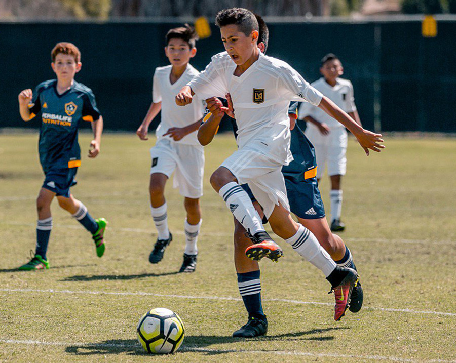 Soccer, LAFC Academy, Los Angeles Football Club logo and branding, Matthew Wolff