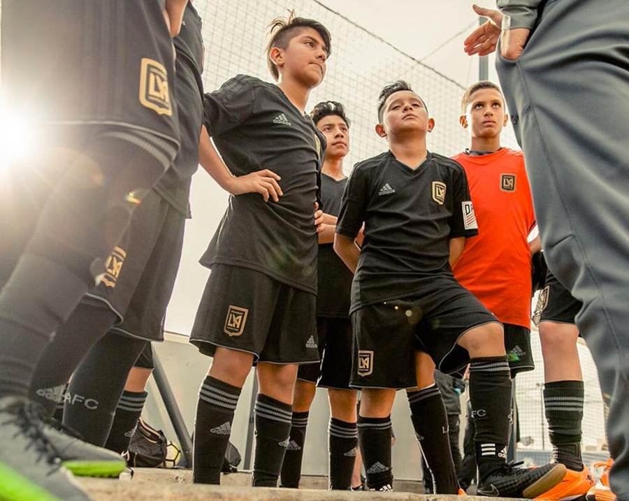 LAFC Academy, Los Angeles Football Club logo and branding, Matthew Wolff