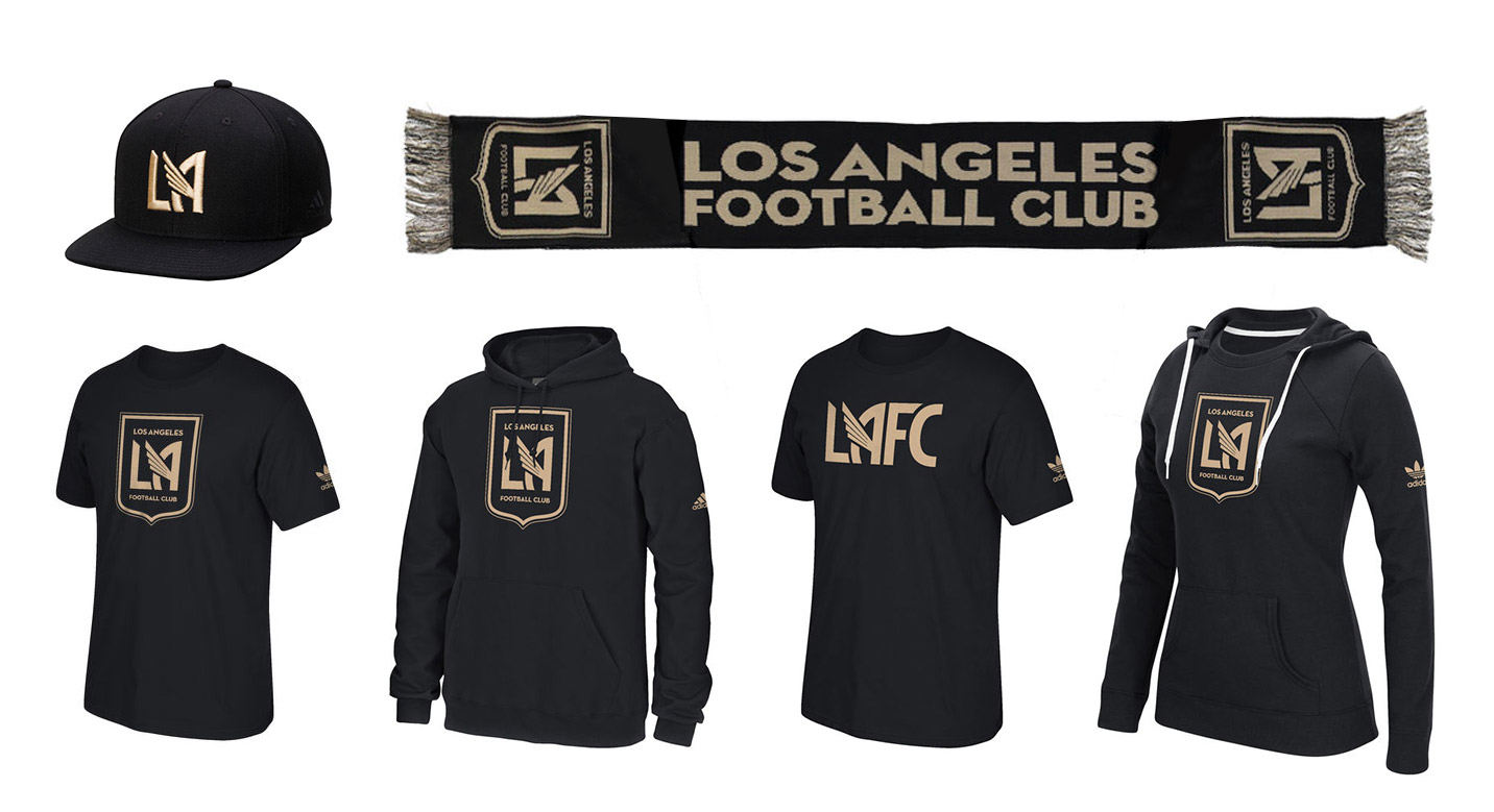 Los Angeles Football Club, LAFC Apparel Matthew Wolff Design