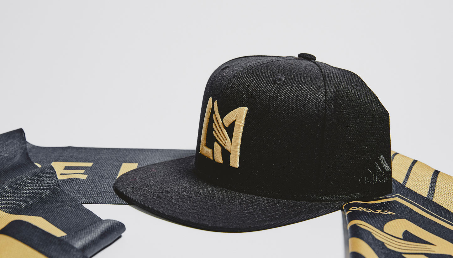 LAFC Snapback hat - photo by soccerbible