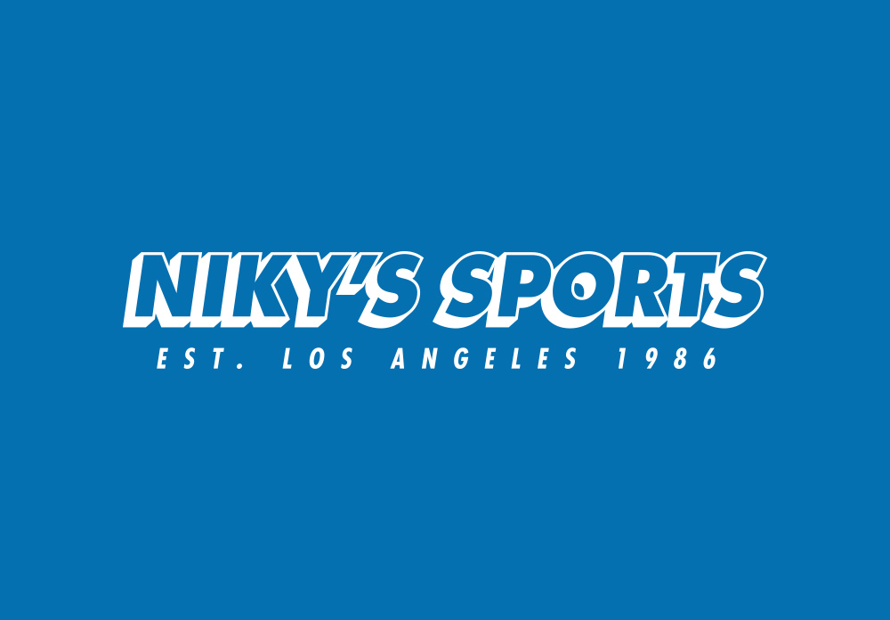 Niky's Sports Los Angeles 1986, Logo, Matthew Wolff