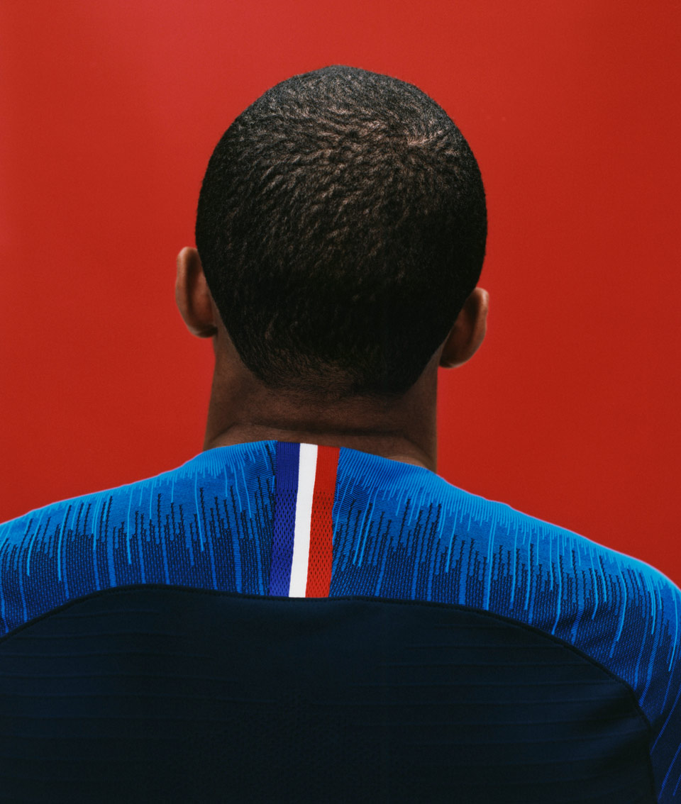 Mbappe France Home Kit 2018, Matthew Wolff, Nike, World Cup Russia, Tricoloure