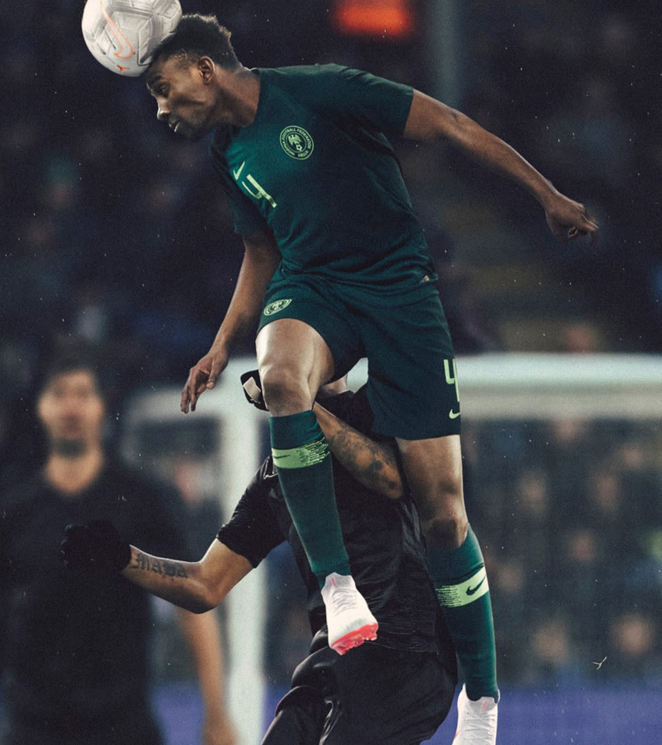 Nigeria Away Kit Kelechi Nike Matthew Wolff