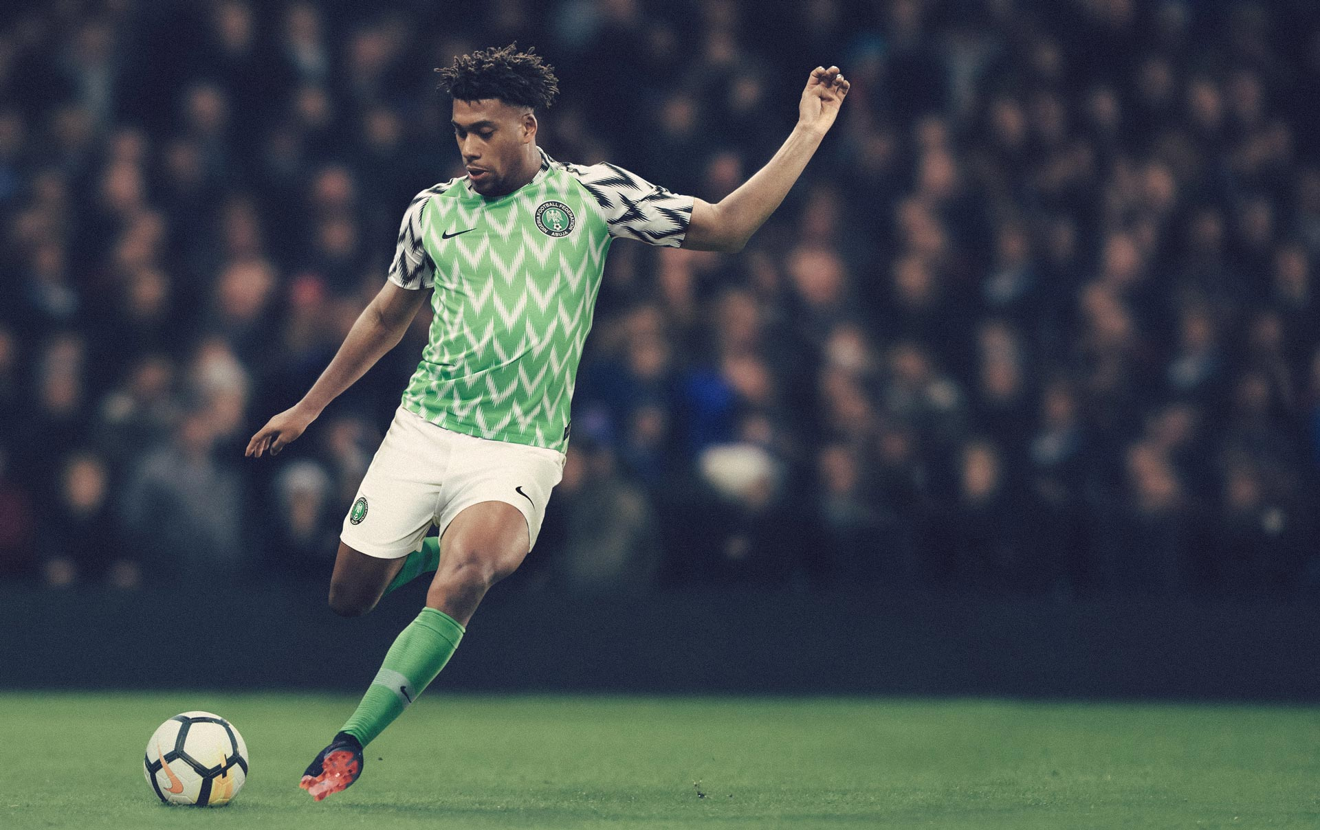 Alex Iwobi NAIJA Nigeria World Cup Nike Kits Jerseys Collection Matthew Wolff Design 2018 Super Eagles HOME