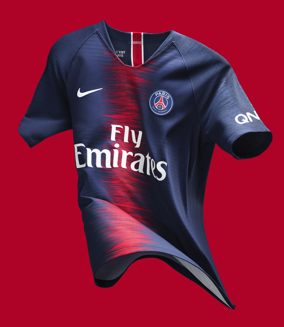Paris Saint-Germain (PSG) Home Jersey 2018 Nike, Matthew Wolff
