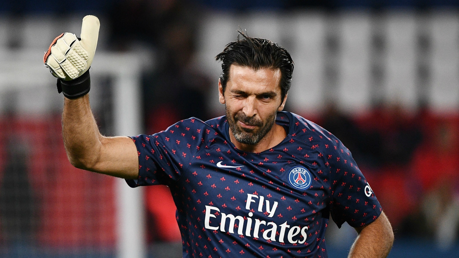 Gianluigi Buffon, PSG, Prematch, Kit, Nike, 2018, Design, Matthew Wolff