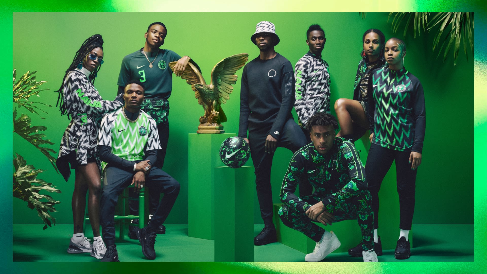 ca72c067b NAIJA Nigeria World Cup Nike Kits Jerseys Collection Matthew Wolff Design  2018 Super Eagles